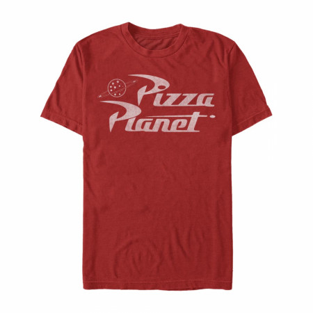 Disney Pixar Toy Story 1-3 Pizza Planet Red T-Shirt