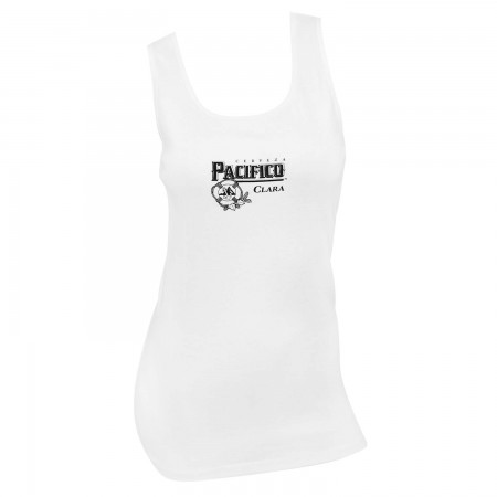 Pacifico Women's White Tank Top