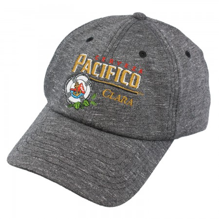 Pacifico Strapback Heathered Grey Hat