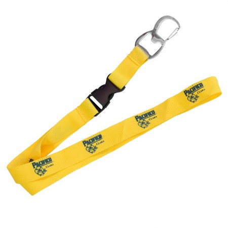 Pacifico Beer Lanyard Bottle Opener Yellow