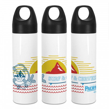 Pacifico Water Bottle With Loop
