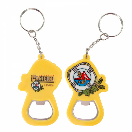 Pacifico Beer Bottle Opener Keychain