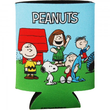 Peanuts Charlie Brown Cast Can Cooler
