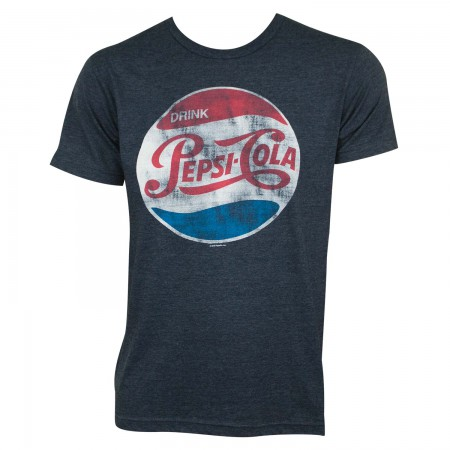 Pepsi Cola Vintage Logo Tee Shirt
