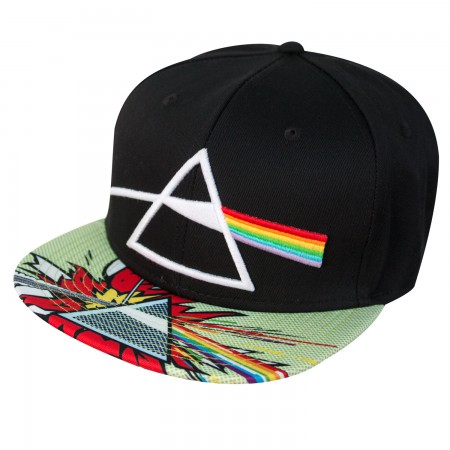 Pink Floyd Dark Side of the Moon Snapback Hat