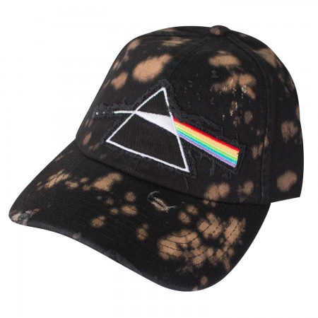 Pink Floyd Dark Side Of The Moon Bleached Hat