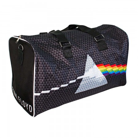 Pink Floyd Black Dark Side Of The Moon Shoulder Strap Messenger Bag