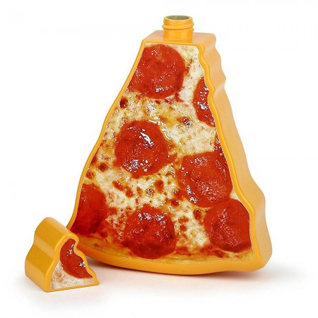 Sippin' Slice Pizza Hidden Flask
