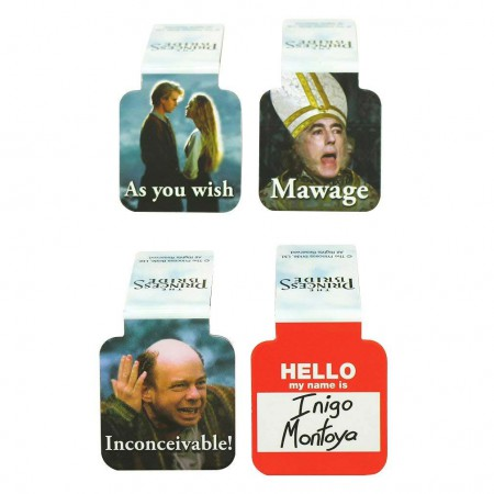 The Princess Bride Magnetic Bookmarks