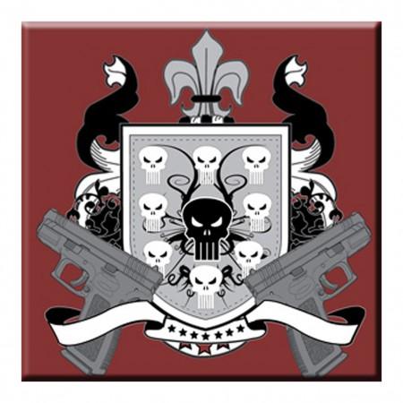 Punisher Pistol Crest Magnet