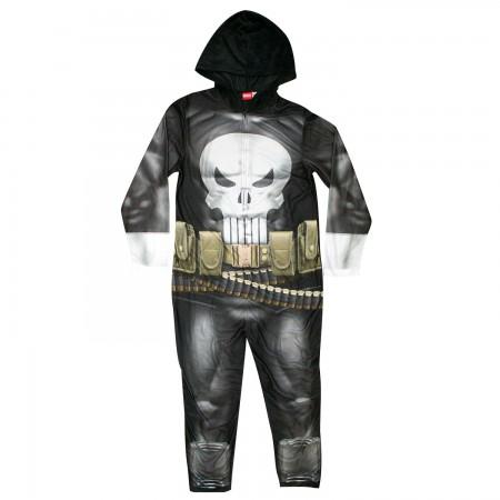 Punisher Pajama Union Suit Men's Costume