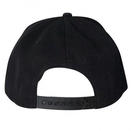 The Punisher Giant Logo Snapback Hat
