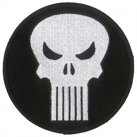 Punisher Comic Logo Iron On Patch