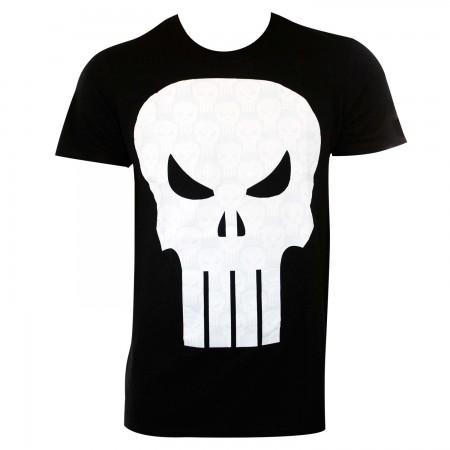 Punisher Men's Black Little Stack T-Shirt