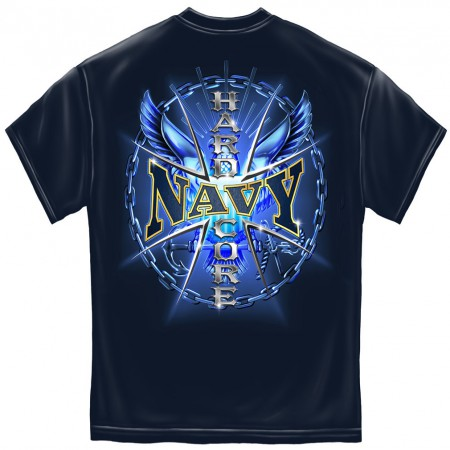 Hardcore US Navy Patriotic TShirt