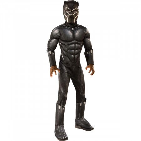 Black Panther Deluxe Youth Halloween Costume