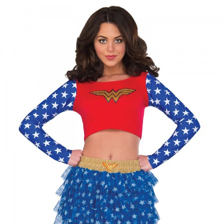 Wonder Woman Women's Crop Top