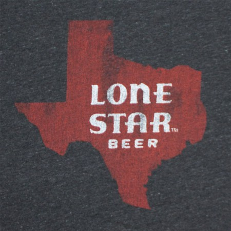 Lone Star Beer Texas Vintage Men's T-Shirt