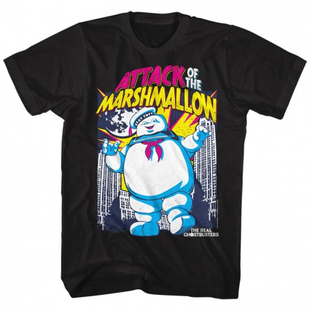 Ghostbusters Attack of the Marshmallow Man Tshirt