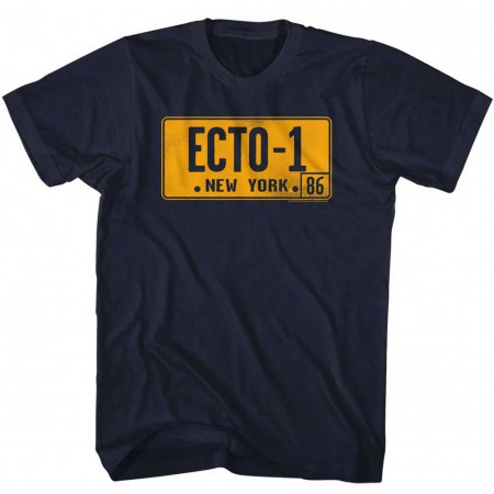 Ghostbusters Ecto-1 Plate T-Shirt