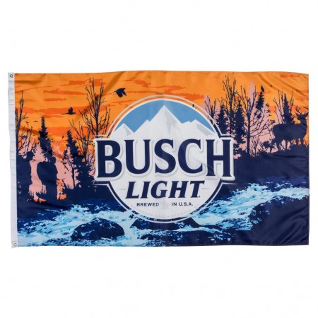 Busch Light Trophy Flag