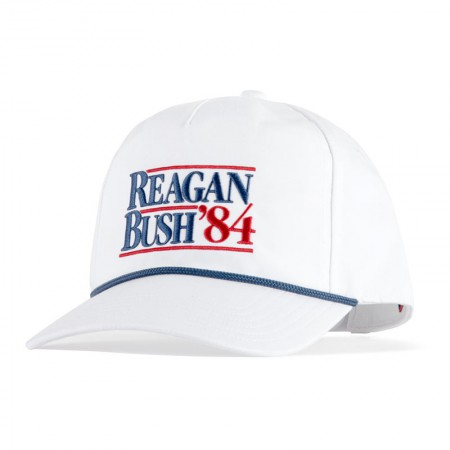 Reagan Bush '84 Political Snapback Hat