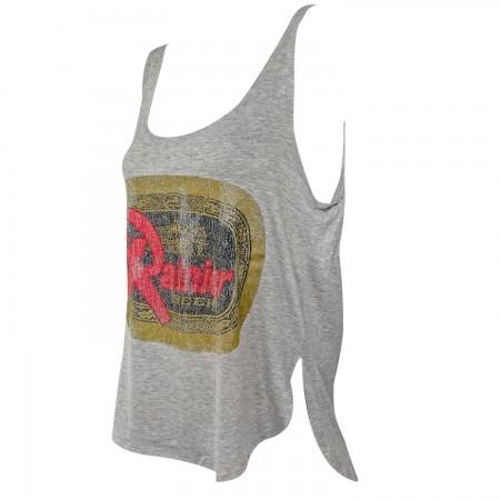 Rainier Retro Brand Women's Gray Tank Top