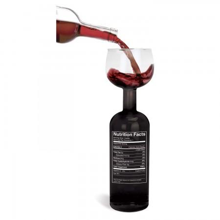 Wine Bottle Wine Glass Nutritional Facts
