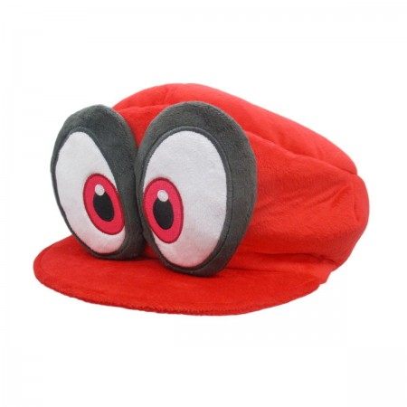 Nintendo Super Mario Bros. Odyssey Red Cappy Plush