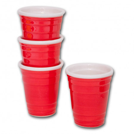 Red Solo Cup Shot Glasses Set