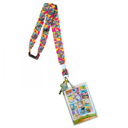 Nickelodeon Ren & Stimpy Card Holder Lanyard