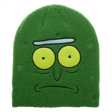 Rick and Morty Pickle Rick Winter Hat