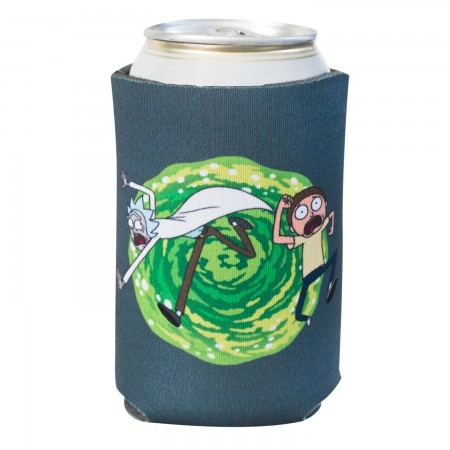 Rick And Morty Foam Vortex Can Cooler