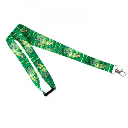 Rick And Morty High Quality Lanyard
