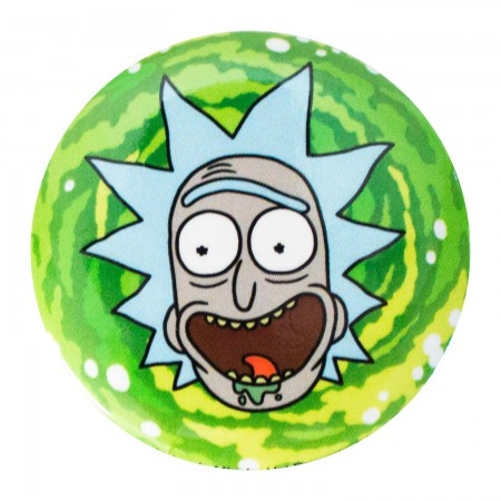Rick And Morty Green Rick Button
