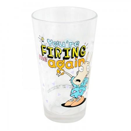 Rocko's Modern Life Comic Pint Glass