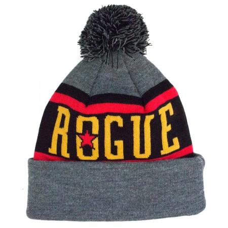 Rogue Ale Grey Pom Hat
