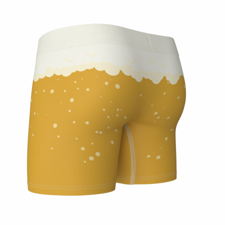 Pale Ale Beer Swag Boxer Briefs in a Can