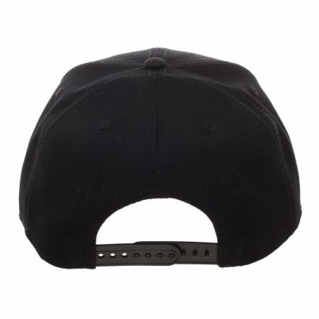 Naruto Leaf Black Snapback Hat