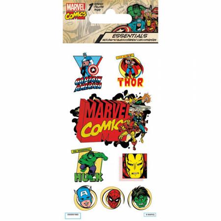 Marvel Super Hero Classic Essentials Sticker Pack