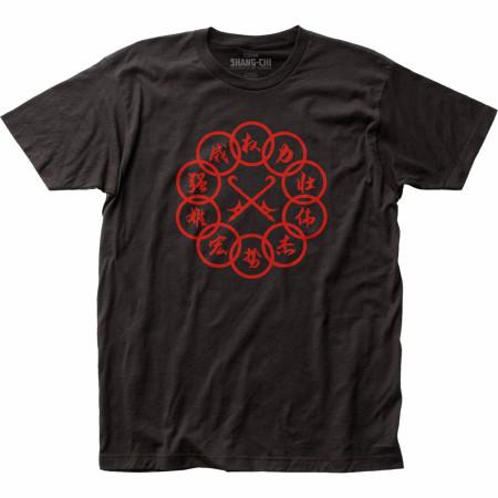 Marvel Studios Shang-Chi Red Ten Rings T-Shirt