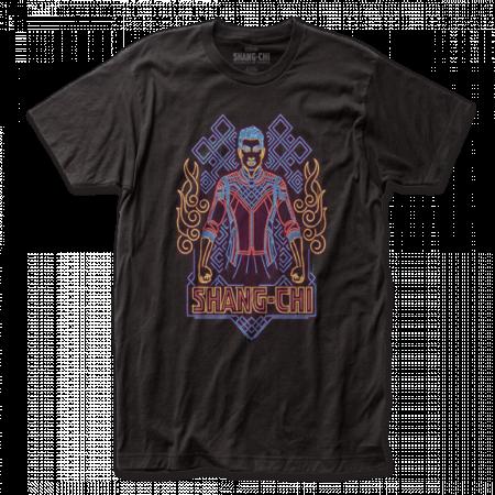 Marvel Shang-Chi Neon Badge T-Shirt