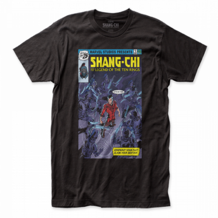 Shang-Chi And The Legend Of The Ten Rings Homage Comic Cover T-Shirt