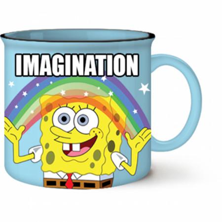 SpongeBob SquarePants Imagination Meme Mug