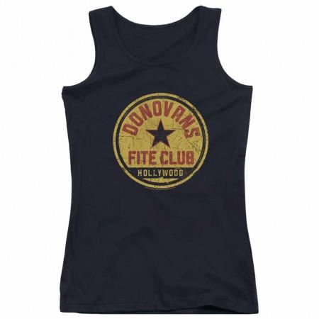 Ray Donovan Fite Club Black Juniors Tank Top