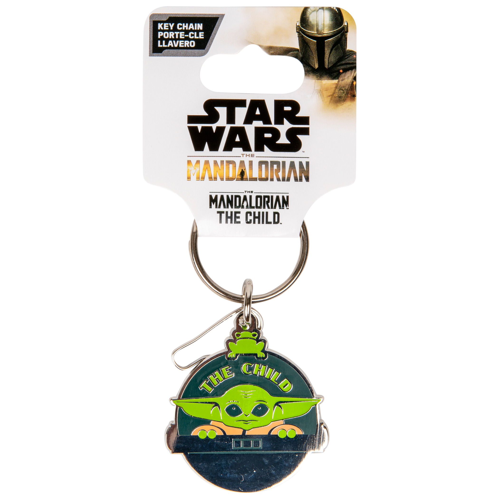 Star Wars The Mandalorian The Child Pod Enamel Keychain