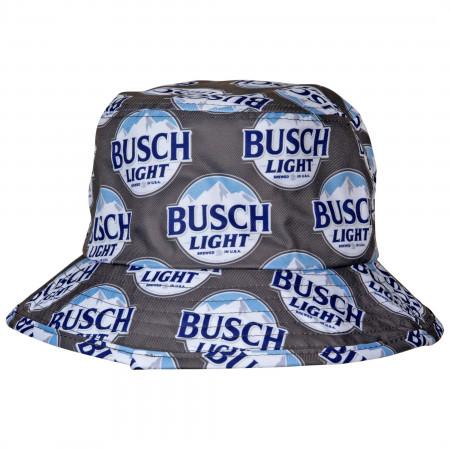 Busch Light Label All Over Bucket Hat