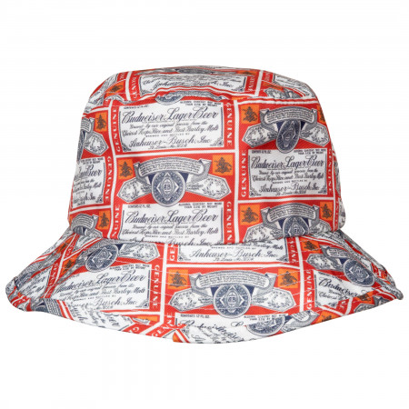 Budweiser Label Bucket Hat