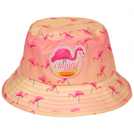 Natural Light Naturdays Flamingo Bucket Hat