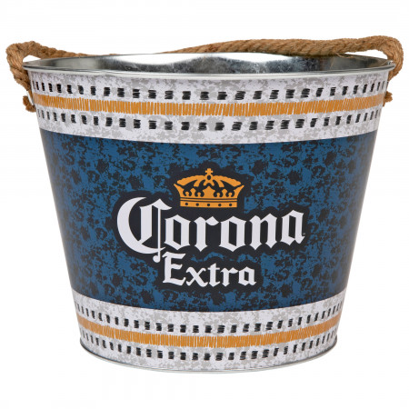 Corona Extra Stainless Steel Bucket with Rope Handle